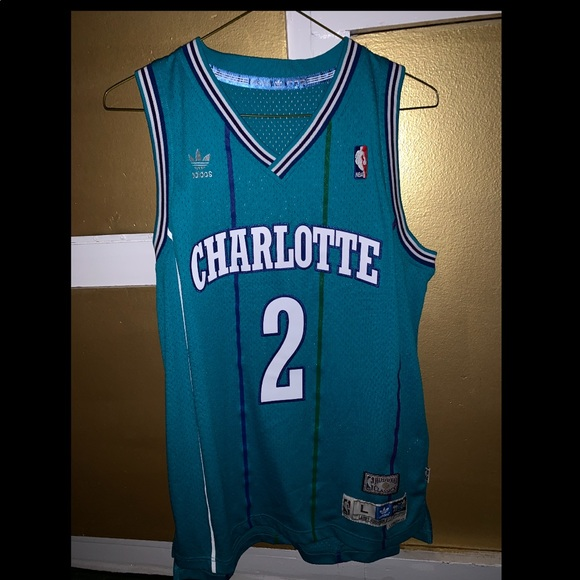 new product fa240 b17a6 Larry Johnson Throwback Jersey